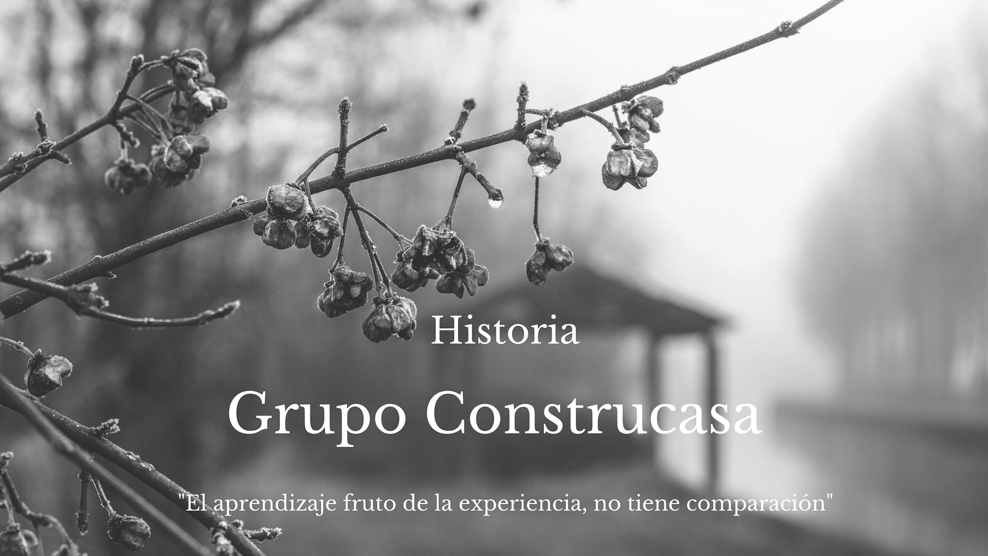 historia Grupo Construcasa
