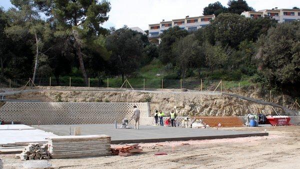 Construcción pistas de padel